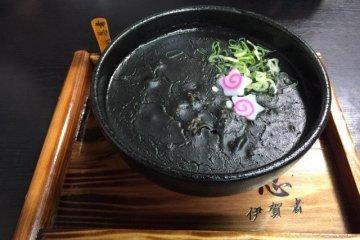 黑咖哩烏龍麵