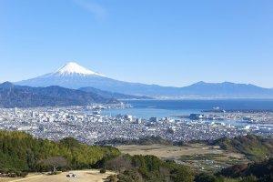 View from Nippondaira Hotel