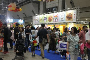 No matter how big the place, it was still filled with both parents and kids enjoying what each booth had to offer.