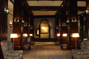 The gorgeous 2nd floor lobby area.