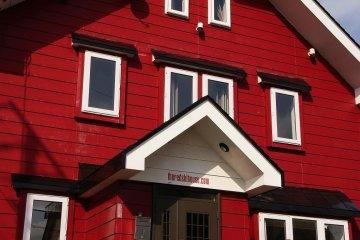 The Red Ski House in Hirafu