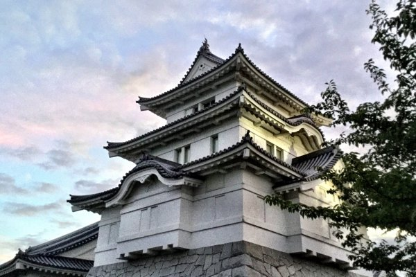 Photogenic Sekiyado Castle Museum