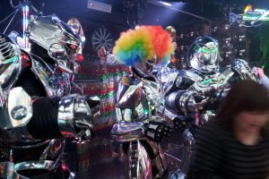 Even robots like to party