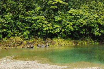 Feng-Shui hexagonal rock