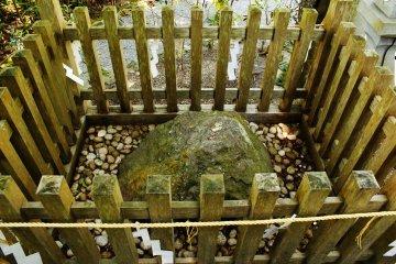 Heaven Stone at Tenkawa Shrine