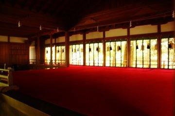 Noh Play stage at Tenkawa Shrine