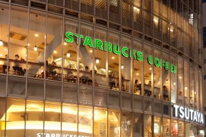 Starbucks in Shibuya