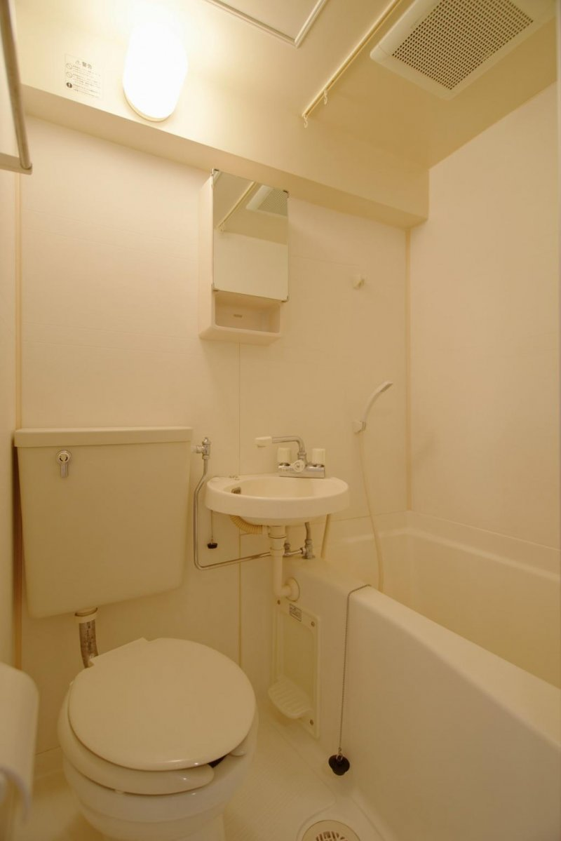 Typical Apartment Bathroom Facilities