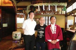 The knowledgable staff at Isegen Japanese Monkfish Restaurant in Akihabara