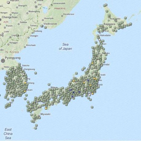 จีโอแคชชิ่งที่ญี่ปุ่น
