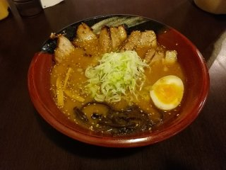 One of the miso flavoured ramen... incredibly tasty!