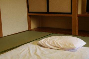 Traditional sleeping style