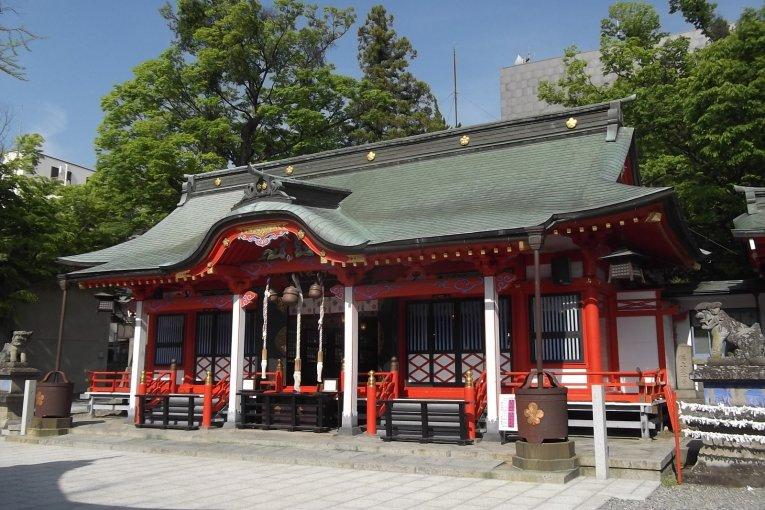 Fukashi-jinja Shrine in Matsumoto