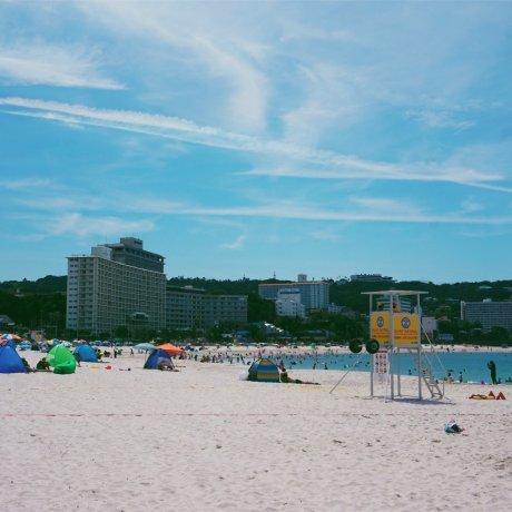 The Sandy Shores of Shirahama