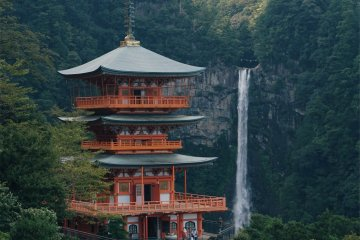 The picturesque Nachi Waterfall