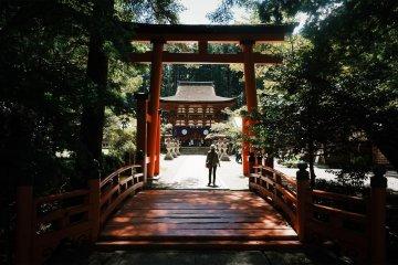 Once you cross the bridge, you cross into the spiritual world