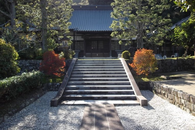 Seigan-ji Temple in Mariko