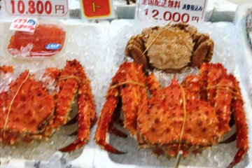 北海道以螃蟹聞名