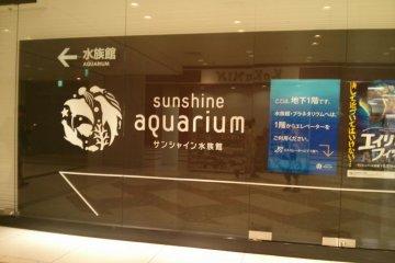 結合水族館的sunshine city