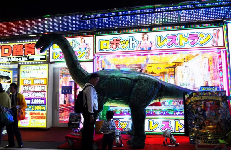 Outside Shinjuku's Robot Restaurant