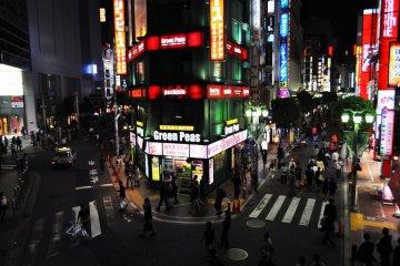 An area a bit furthur away from Kabukichō