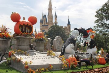 Хэллоуин в Диснее 2018