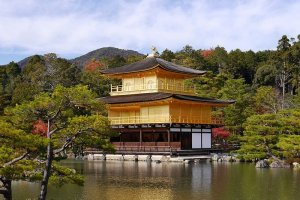 Kinkaku-ji, o famoso pavilhão dourado
