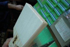 Shark-skin wasabi grater