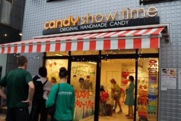 Candy Show Time on Cat Street