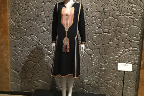 Islamic style day dress by Paul Poiret, 1923
