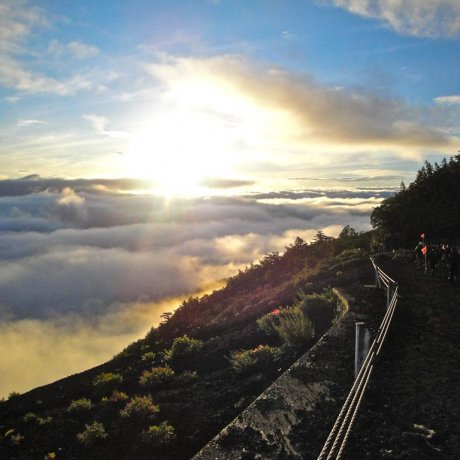 Gunung Fuji: Pendakian Satu Hari
