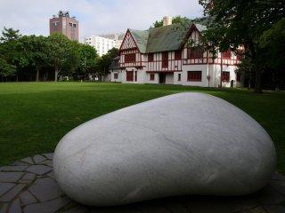 Le géant Jelly Bean de marbre!