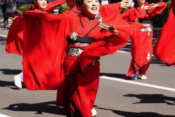 Yosakoi Soran Festival in Sapporo
