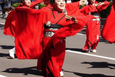 삿포로의 요사코이 소란 축제 삿포로