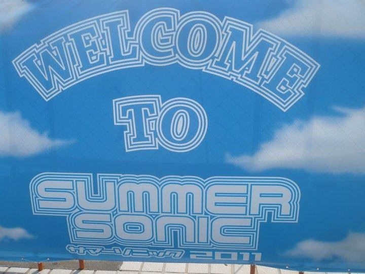 Welcome to Summersonic