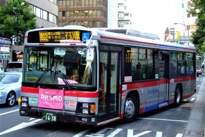 A typical suburban Japanese bus