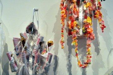A portion of Tsumura Kosuke's 'FINAL HOME' installation
