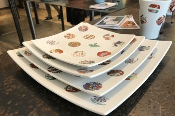 Nods to tradition with a more modern plate style are featured here