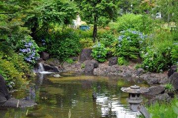Công viên Hinokicho ở Roppongi