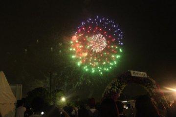 Yokohama Port Festival Fireworks