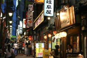 Một chuyến đi xuống Memory Lane, Shinjuku Omoide Yokocho.