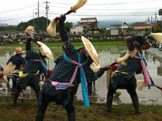 Uma dança para as divindades do arroz