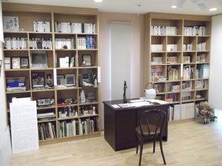 Yasuka's books and belongings