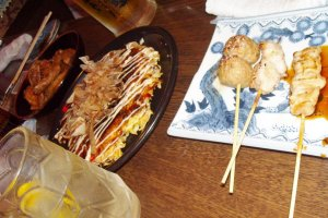 Okonomiyaki & Yakitori