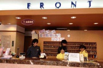 Toyoko Inn Shinagawa Front Desk is open 24 hours a day