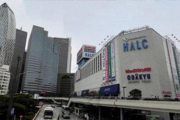 View from Shinjuku Nishiguchi Station