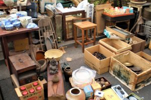 Boxes and boxes - an antique lovers paradise