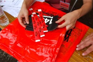 Check-in to receive your running bib and wristband to collect your goody bag at the finish