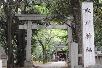ศาลเจ้า Hikawa