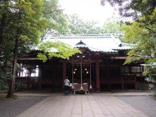 The main shrine building
